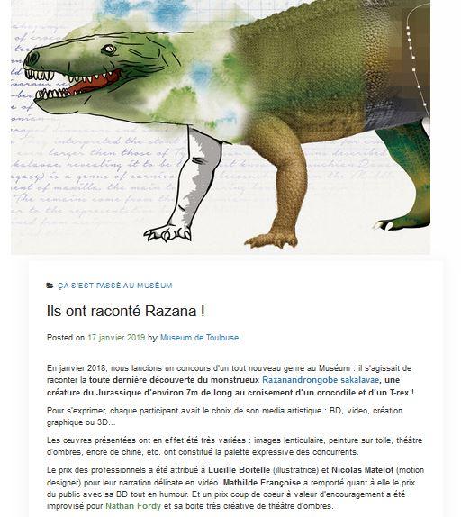 article blog muséum